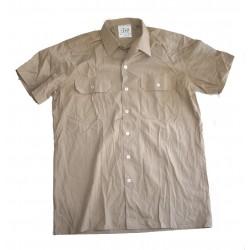 BW Bordhemd kurzarm Beige