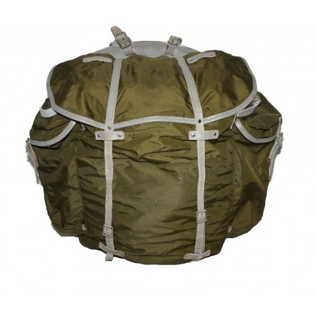 Belgischer Rucksack Oliv PVC (gebr.)
