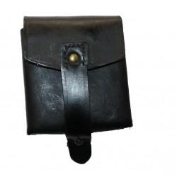 Ital. Patronentasche Leder (gebr.)