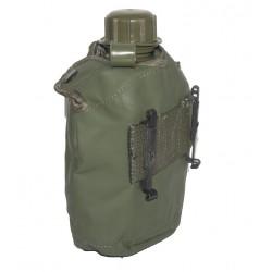 Feldflasche (Neu) mit Belgische Tasche M71