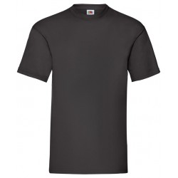 T-Shirt Schwarz Fruit Of The Loom (Neu)